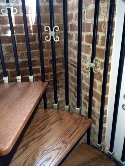 Isle of Hope Staircase Railing Renovations